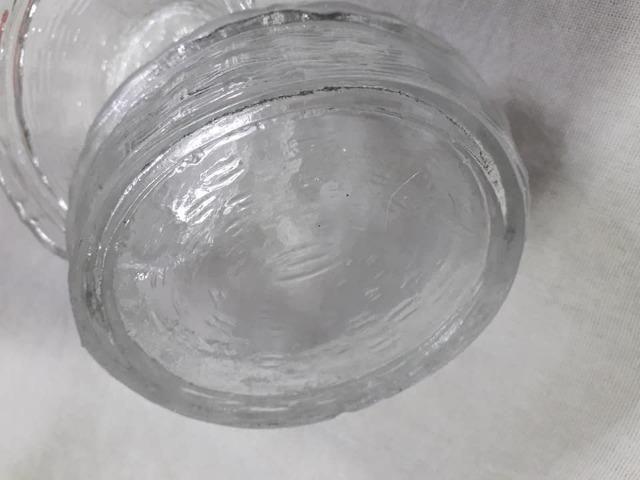 Mantegueira antiga em vidro - Foto 4