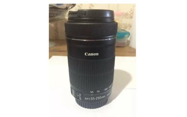 Câmera Digital Canon Dslr + Lentes + Flash 2800 clicks - Foto 6