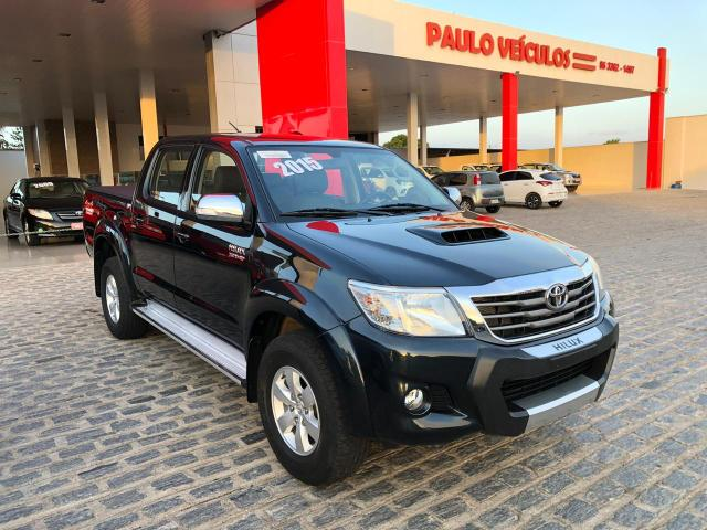 Toyota hilux srv ano 2015 top