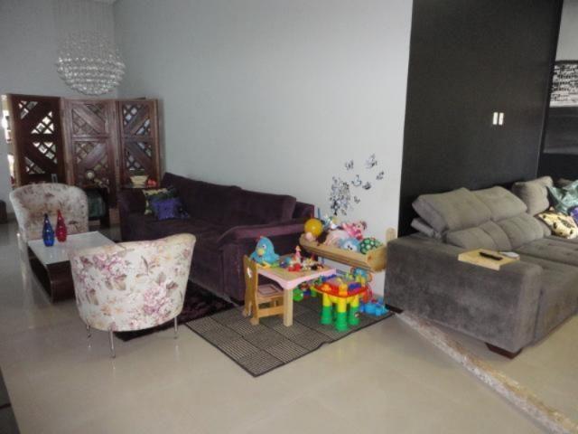 Vicente pires, linda e moderna casa, sala com pé direito duplo - Foto 8