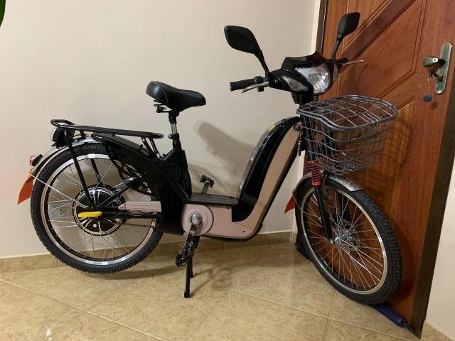 Bicicleta Elétrica 350 W 48v - Foto 2