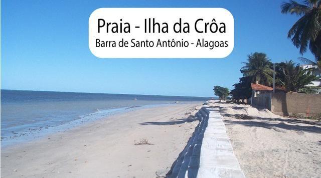 Litoral Norte - Barra de Santo Antônio - Ilha da Croa - Em Rua Pavimentada - Foto 17