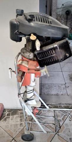 Motor para Barco, Bote e Caiaque de 6.5 HP aceito ofertas - Foto 3