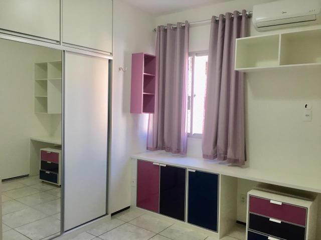 Apart. 100% projetado no Cocó, 101m², 3 quartos, 3 banheiros, DCE, Área de Serviço - Foto 8