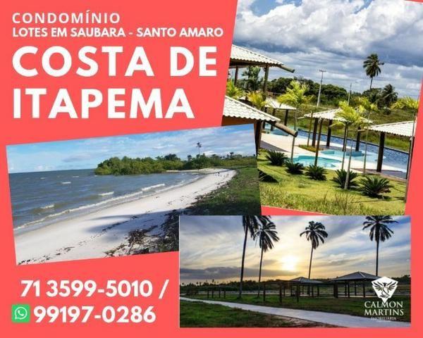 Lotes em Saubara, Costa de Itapema- Pagamento Facilitado, Praia Privativa