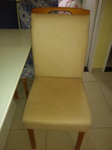 Vendo linda mesa de 6 cadeira - Foto 6