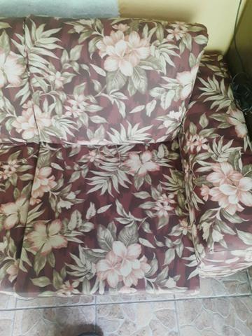 Sofá parma de 3 lugares semi novo com tecido impermeável - Foto 5