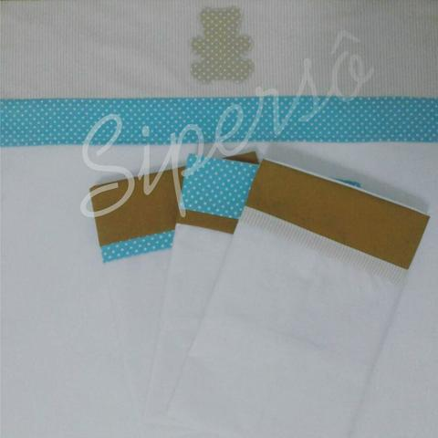 Kit lençóis e fronhas para berço - Foto 5