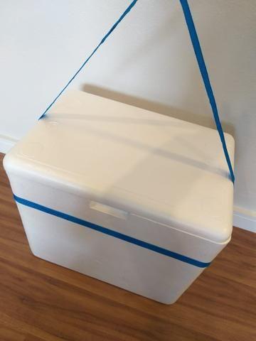 Caixa térmica de isopor 50x40x40 - Foto 3
