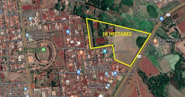 Area de 18 Hectares no Perimetro Urbano em Dourados