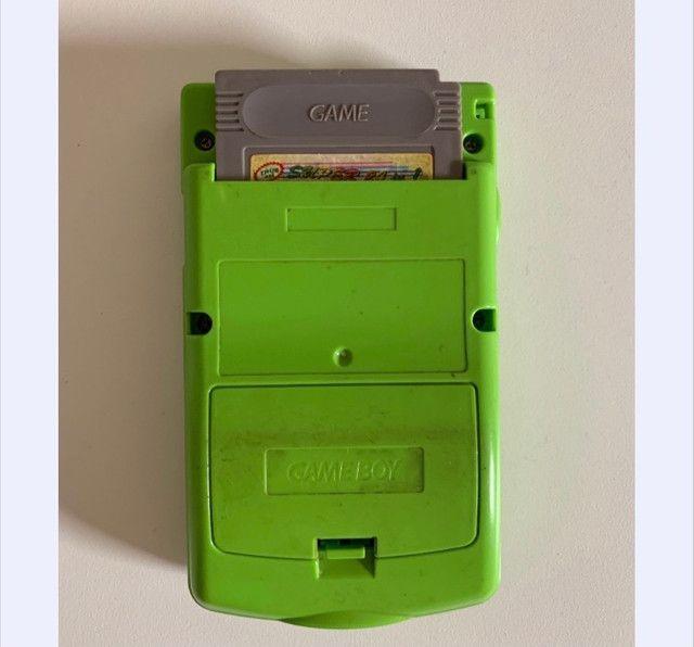 Game boy color kiwi e jogo - Foto 6