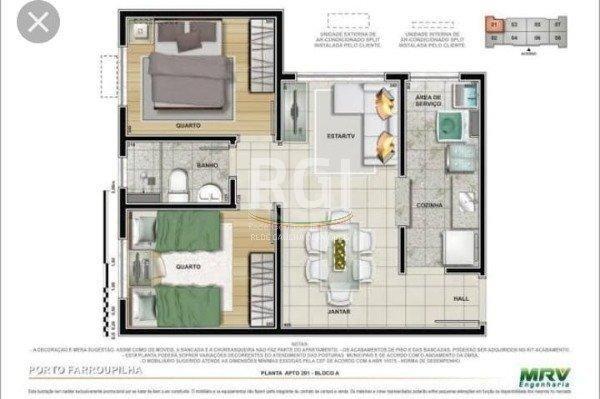 Apartamento à venda com 2 dormitórios em , Porto alegre cod:MI270498 - Foto 16