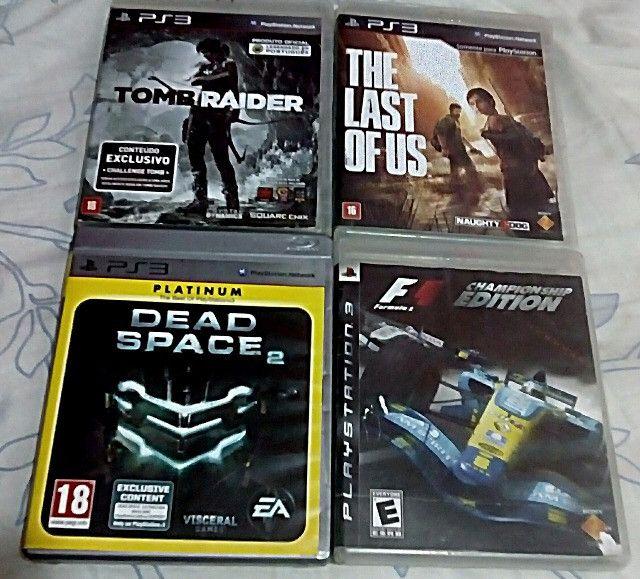 Vendo jogos originais PS3/PS2