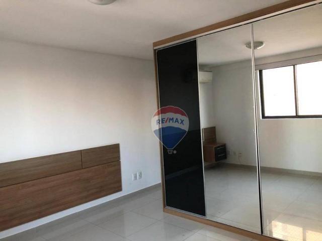 Apartamento com 3 dormitórios para alugar, 122 m² por R$ 2.400,00/mês - Manaíra - João Pes - Foto 8