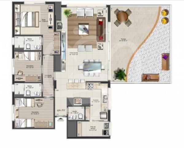 Apartamento à venda com 3 dormitórios em Auxiliadora, Porto alegre cod:AP010694 - Foto 4
