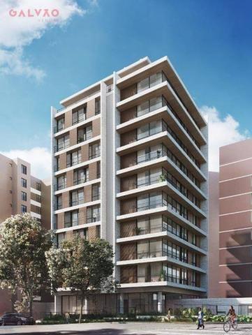 Apartamento com 2 dormitórios à venda, 85 m² por R$ 834.000,00 - Bigorrilho - Curitiba/PR - Foto 2