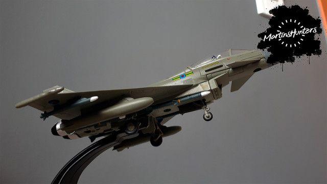 Miniatura Eurofighter EF-2000 - Escala 1:100 - Promoção Imperdível - Foto 5
