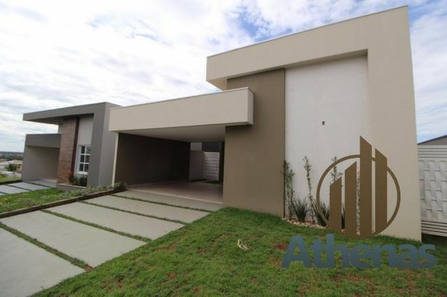 Condomínio Belvedere casa térrea com 3 suítes e 197 m² imóvel novo