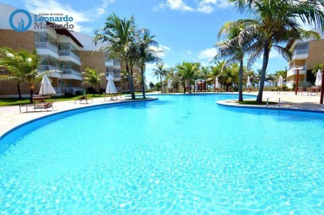 Apartamento à venda, 125 m² por R$ 680.000,00 - Porto das Dunas - Fortaleza/CE - Foto 2