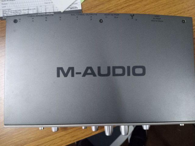 Placa de áudio M audio - Foto 2