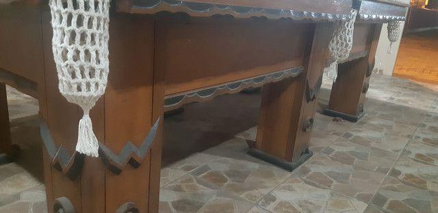 Mesa de bilhar semi oficial - Foto 3