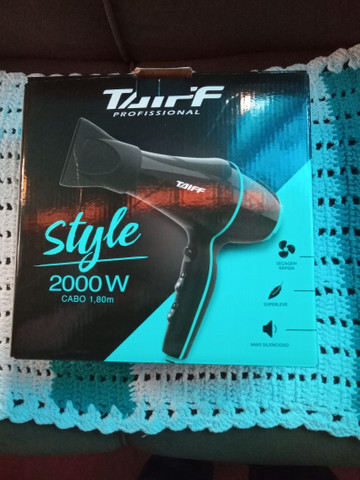 Secador Taiff style novo na caixa sem uso