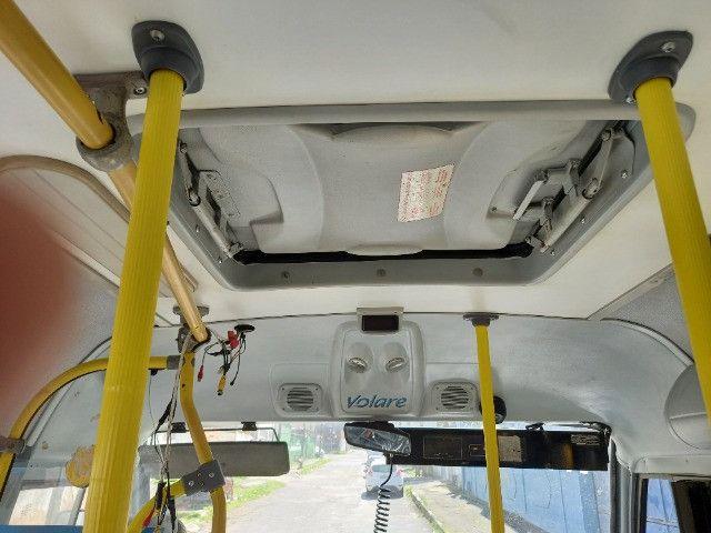 Vendo micro onibus volare W8 ano 2010 - Foto 7