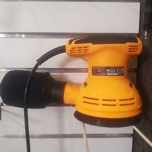 Lixadeira Rotativa Ingco 320W  - Foto 2