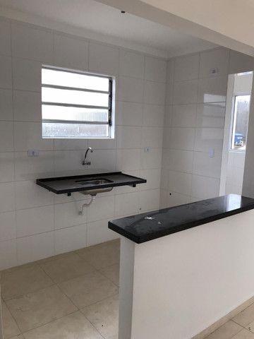 Casa Alta Nova 02 dormitórios Jd Rio Branco espaçosa, Minha C. Minha vida Entrada Fácil - Foto 2