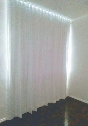 Cortina gaze de linho com blackout lavável - faça um orçamento sem compromisso - Foto 2