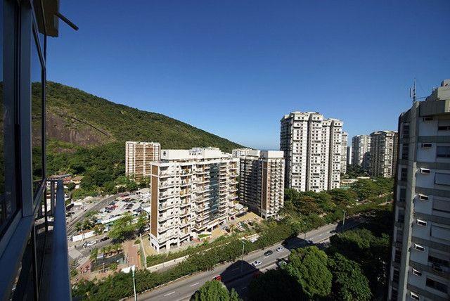 Apartamento Estação São Conrado Metrô na porta 5 minutos Leblon - Foto 13