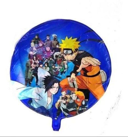 Balão Naruto 45 cm kit com 5 un