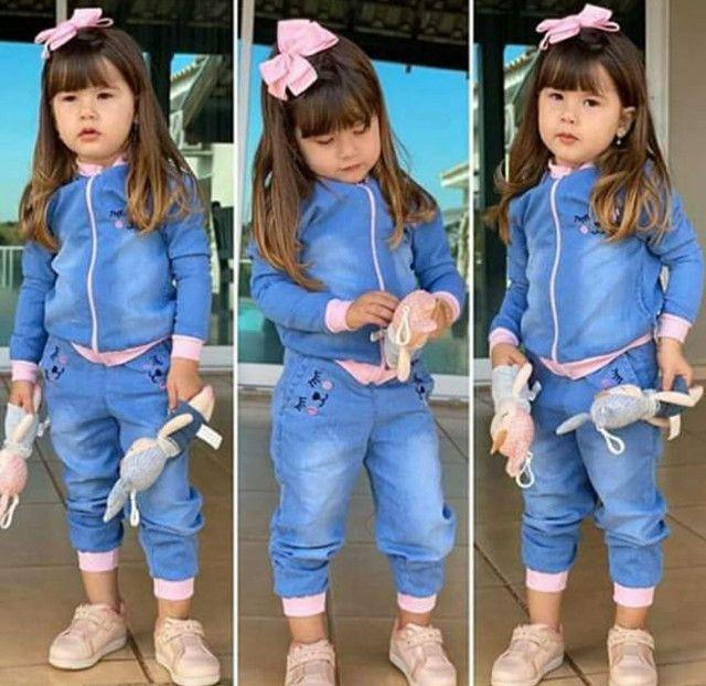 Conjunto jeans infantil  - Foto 2