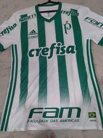 Camisa Palmeiras 2017 de jogo. - Foto 3