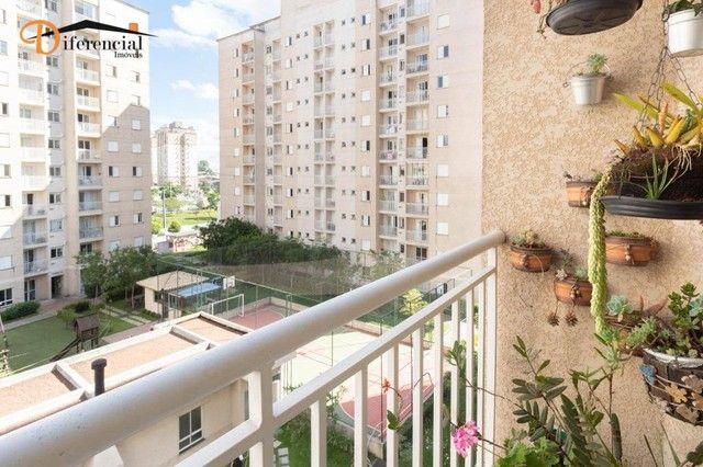 Apartamento com 3 dormitórios à venda, 62 m² por R$ 320.000,00 - Fanny - Curitiba/PR - Foto 14
