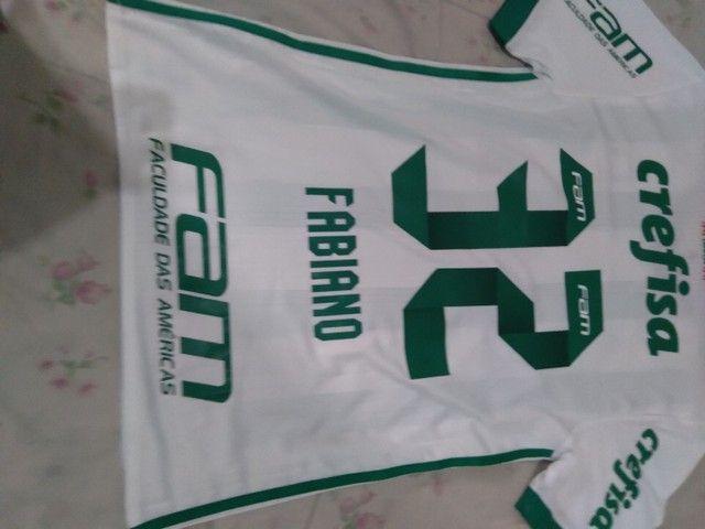 Camisa Palmeiras 2017 de jogo. - Foto 2