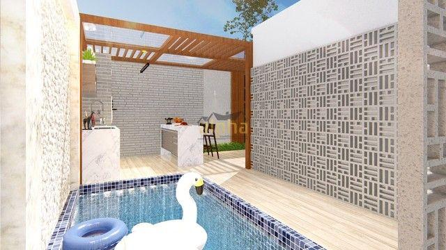 duplex para venda tem 168 metros quadrados com 3 quartos em Jacunda - Aquiraz - CE - Foto 6