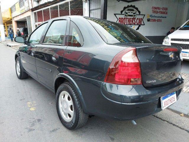 Corsa Sedan Premium 1.8 Flex 2008 COMPLETO + AIRBAG - Foto 6