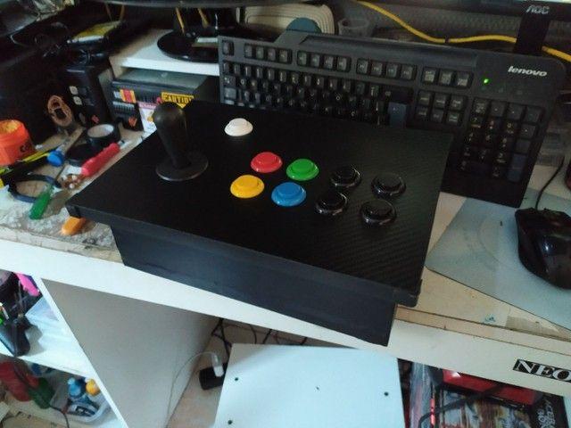 Controle arcade 1player.. ( sem parte elétrica) - Foto 4