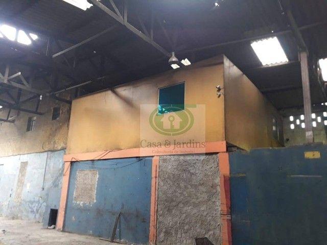 Galpão para alugar por R$ 8.000,00/mês - Macuco - Santos/SP - Foto 11
