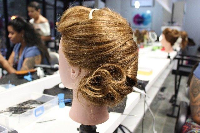 Boneca/cabeça de luxo para treinar Penteados  - Foto 3