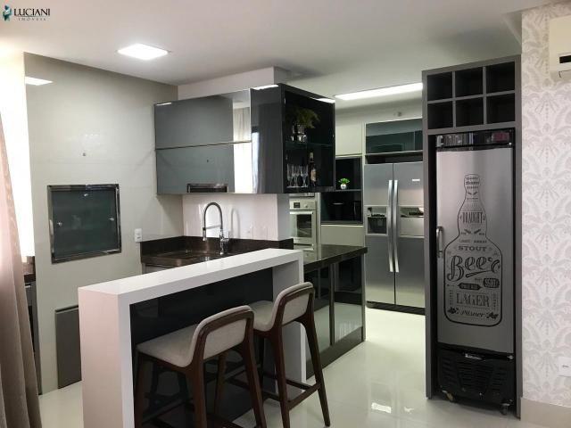 Magnífico Apartamento Mobiliado com 03 Suítes no Centro de Balneário Camboriú! - Foto 3