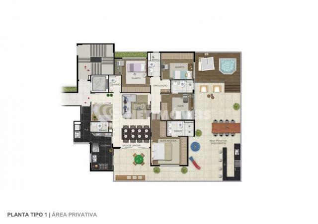 Apartamento à venda com 4 dormitórios em Ouro preto, Belo horizonte cod:641691 - Foto 14