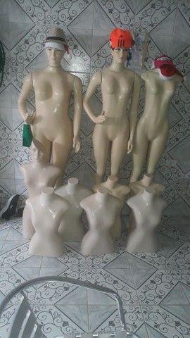 Manequins de roupa
