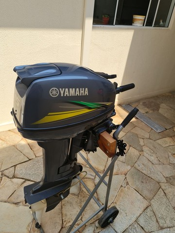 Motor de popa 15 hp yamanha  - Foto 5