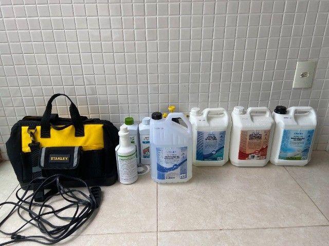Kit completo para higienização de estofados!!! - Foto 5