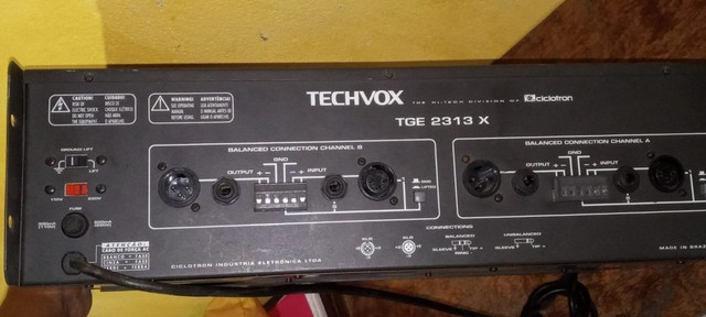 Equalizador Tecvox Tge 2313 X 31 Bandas - Foto 2