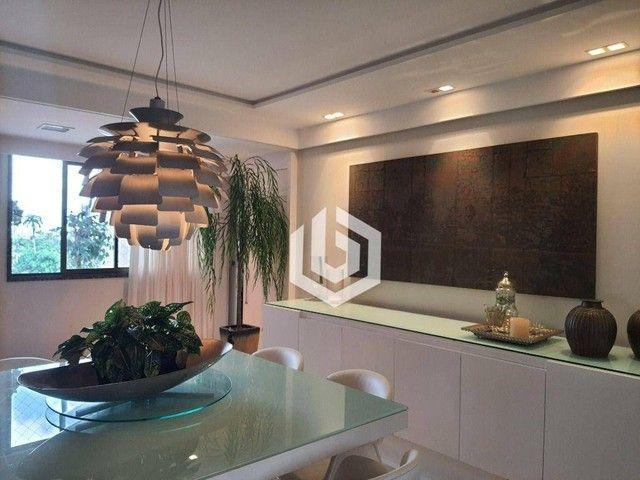 Apartamento com 4 dormitórios à venda, 180 m² por R$ 1.349.000 - Poço da Panela - Recife/P - Foto 5