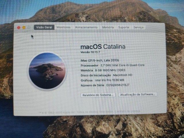 iMac 2015 Intel Core I5 Quad-core 8gb Ddr3 1tb Hd - Foto 6