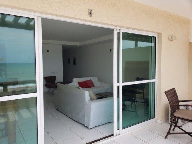 Apartamento para alugueo temporada  com pé na areia na praia do cumbuco 100 m2 - Foto 4